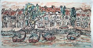 lim tze peng singapore oldest living artist singapore river four boats cna lifestyle experiences