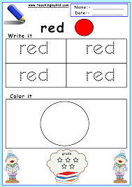 We at kids activities blog hope that you make some time to. 60 Awesome Preschool Worksheets Colors Activities Samsfriedchickenanddonuts
