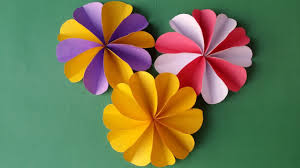How To Make A Beautiful Flower With Paper Diy How To Make Easy Beautiful Paper Flower Youtube