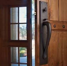 Wonderful Front Door Hardware Craftsman Rocky Mountain Thumblatch Entry On Inspiration Decorating
