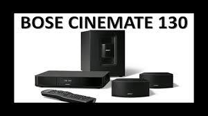 bose 130. sistema home cinema bose \u2013 130 bose s