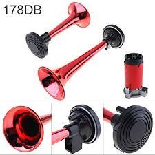 Amazon.com: <b>12V 178dB Super Loud</b> Dual Tone Air Horn Set ...