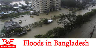 Bangladesh Riverbank Erosion and Flood in Kazipur  Bangladesh