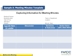 munites of meeting tips techniques for writing meeting minutes ppt video online