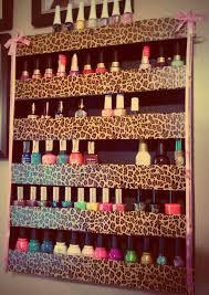 leopard nail polish rack