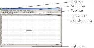 Ms Excel Spreadsheets The Excel Interface