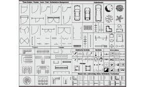 Symbole Architektur