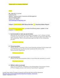 Quarterly Status Report Template Queue Management Quarterly Status Report Template