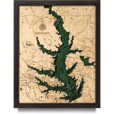 Lake Conroe Nautical Chart Lake Conroe