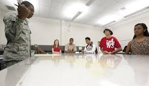 Radford High School students visit base > 15th Wing > Article Display