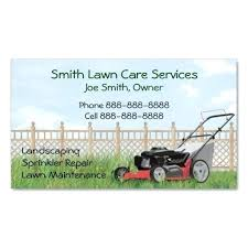 lawn care templates mowing business cards lawn lovely best care images on card templates