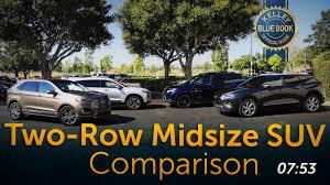 Two Row Midsize Suv Comparison