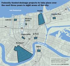 new orleans to move forward with 115 million in ecologically driven drainage projects
