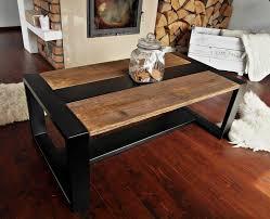 Handmade Rustic Reclaimed Wood U0026 Black Steel Industrial Coffee Table By  DesignInFocus On Etsy Https: