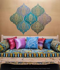 diy wall art stencil and paint wall art wood shapes from royal design studio on damask wood wall art with how to stencil moroccan dreams wall art wood shapes wall decor