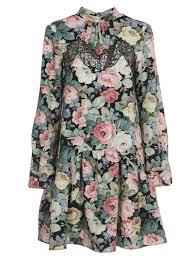 Vivetta Designer Vivetta Flora Pattern Dress