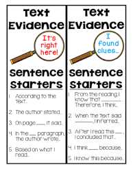 Rl 4 1 Anchor Chart A Free Text Evidence Lesson Crafting Connections