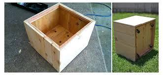woodworking build wood planter box diy large boxes flower centerpiece