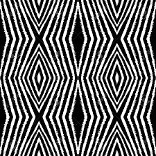 抽象的なシームレス パターン インクで作られたファンタジーモノクロのフリーハンドのテクスチャー黒と
