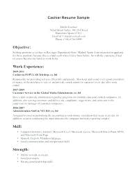 Cashier Objective Resume Template. Objective Resume Administrative ...