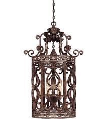 savoy house entry lanterns grenada 6 light entry light in moroccan bronze 3 764 6 241