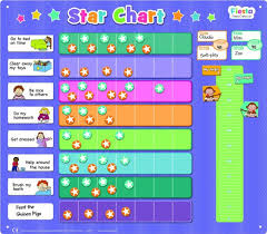 How To Do A Star Chart Fiesta Crafts T 2767 Magnetic Extra Large Star Chart