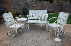 white iron garden furniture. Modern Patio And Furniture Medium Size White Metal Set Endearing Chairs Garden Hire . Iron A