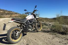 our first thoughts on the 2017 ducati scrambler desert sled and