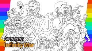 Avengers Infinity War How To Draw Super Hero Drawing And
