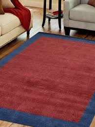 rugsotic carpets hand knotted loom wool contemporary area rug red blue contemporary area rugs by get my rugs llc