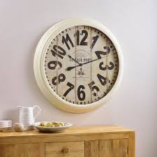 Country Kitchen Wall Clocks Clocks Liven Up Your Wall Oak Furniture Land