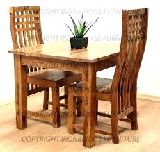 elegant bench dining table 2 chairs chair two kitchen and small with white 2 chair dining table ideas