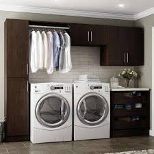 cabinets in laundry room. horizon 105 in. w mocha laundry cabinet kit cabinets in room s