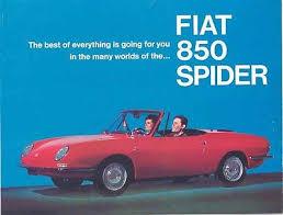 fiat spider io 1967 fiat 850 spider s brochure mw2977 wrp2qv