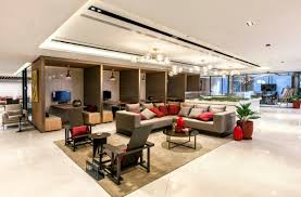 collaborative office space. From Hierarchical Office Into Semi-open Space With Collaboration Zones \u2013  The Insights Enabled Team To Get Employee Buy-in For Big Transition From A Collaborative