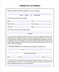 blank power of attorney 24 printable power of attorney forms