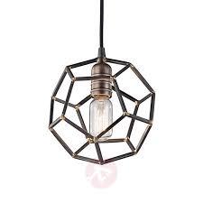 Rocklyn One Bulb Hanging Lamp Lightsie