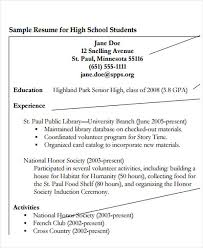 education high school resume 20 education resume templates in pdf free premium templates