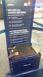 amazon boardingblue new jetblue airlines 1 for 2 personal item rh amazon jet blue carey on size jetblue carry on size is