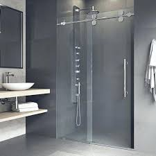 tempered glass shower door is robust and resilient with the choice of either clear or frosted