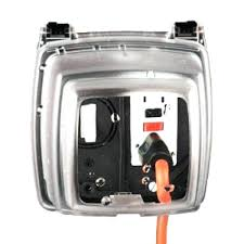 outdoor receptacle cover 2 gang in use weatherproof outdoor plug cover