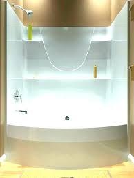 1 piece tub shower surround home depot bathtub one bathtubs walls sur