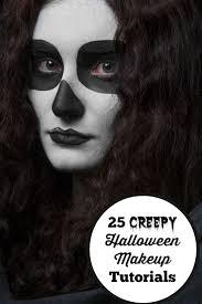 25 Creepy Halloween Makeup Tutorials   Get Inspired With These 25 Creepy Halloween  Makeup Tutorials With