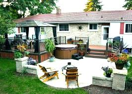 Backyard Design Plans Fascinating Covered Back Patio Ideas Front Porch Covering Cover Roof Pati