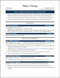 7 Amazing Human Resources Resume Examples Livecareer Template Hr