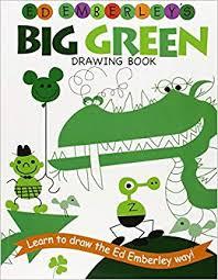 ed emberley s big green drawing book ed emberley drawing books ed emberley 9780316789769 amazon books