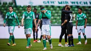 Davie selke wird werder bremen nach dem abstieg definitiv verlassen. Sv Werder Bremen Borussia Monchengladbach Svw Steigt Nach Niederlage Aus Bundesliga Ab Eurosport