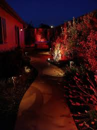 outdoor lighting effects. there are multiple types of lighting that can be added to give different effects up down pathway wall step outdoor