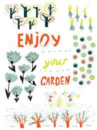 Resultado de imagen de huerto jardin cartel