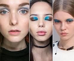 fall winter 2016 2016 makeup trends blue eye makeup